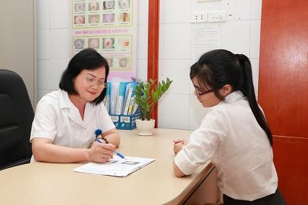Hình ảnh bác sỹ Dương Thị Thắng