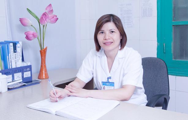 Hình ảnh bác sỹ Hà Thị Huệ